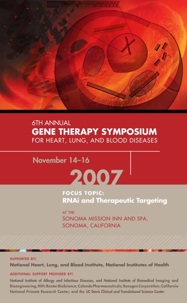 6th Annual Gene Therapy Symposium Poster